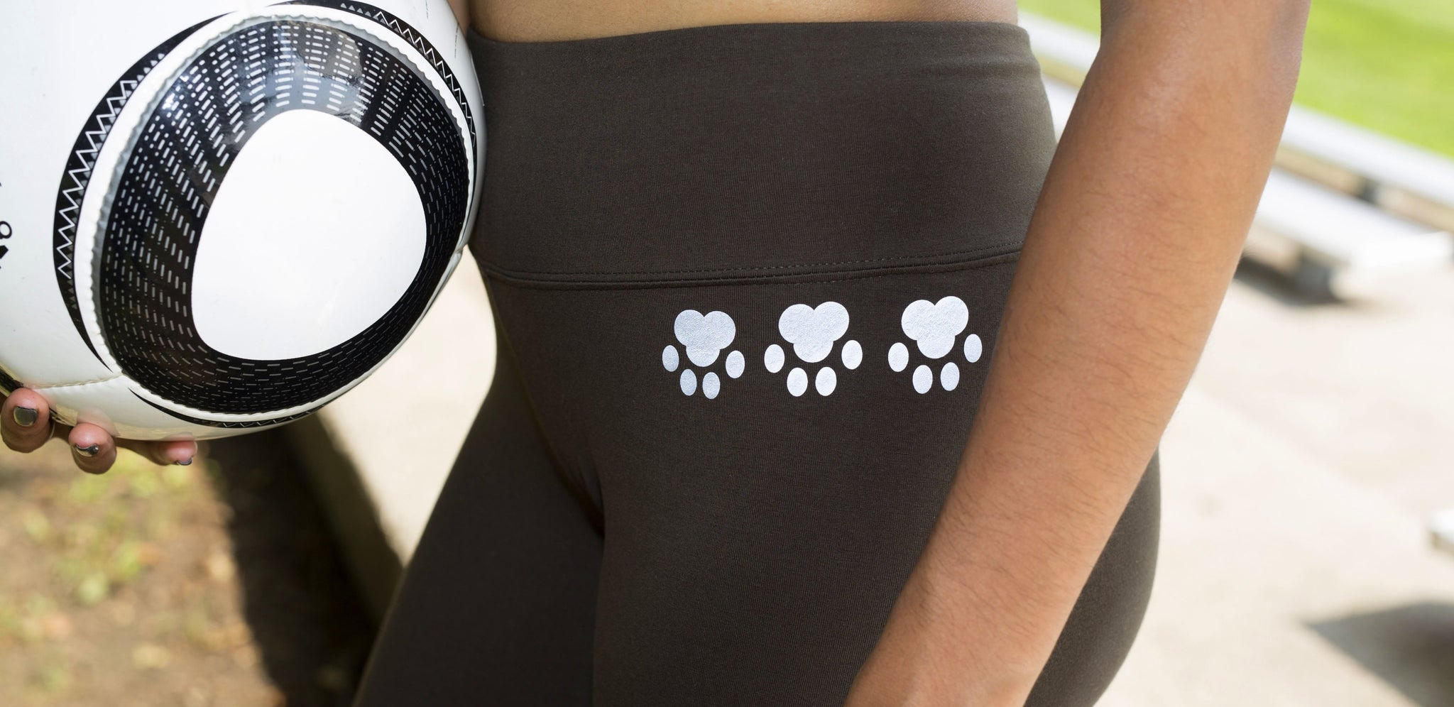 High visibility reflective iron-on decals. Made with 3M™ Scotchlite™ Reflective Material. Feel safer, hiking, walking, running. Create your own reflective outfit, apparel, activewear. Customizable, easy to apply, do it yourself. Noktillu Paw Print design.
