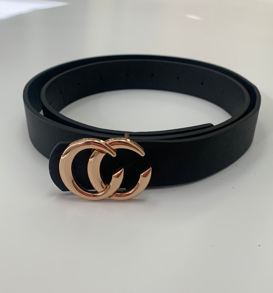 Small CC Buckle Belt