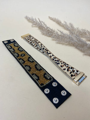 Load image into Gallery viewer, Leopard Bracelets