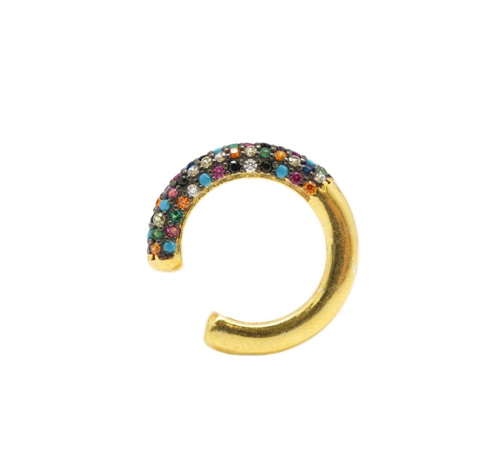 Multicolored Ear Cuff