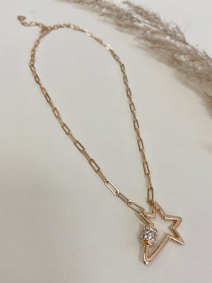 Chain Star Necklace