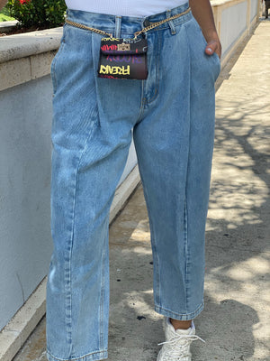 Load image into Gallery viewer, Pleated Jeans