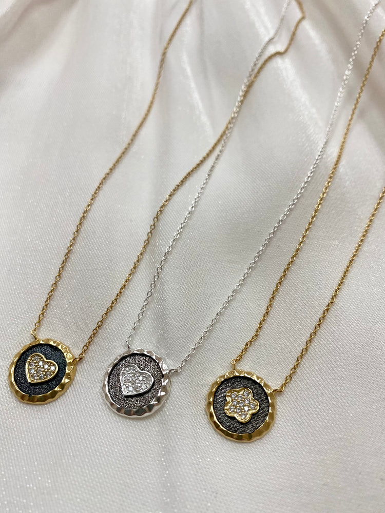 Flat Charm Necklaces