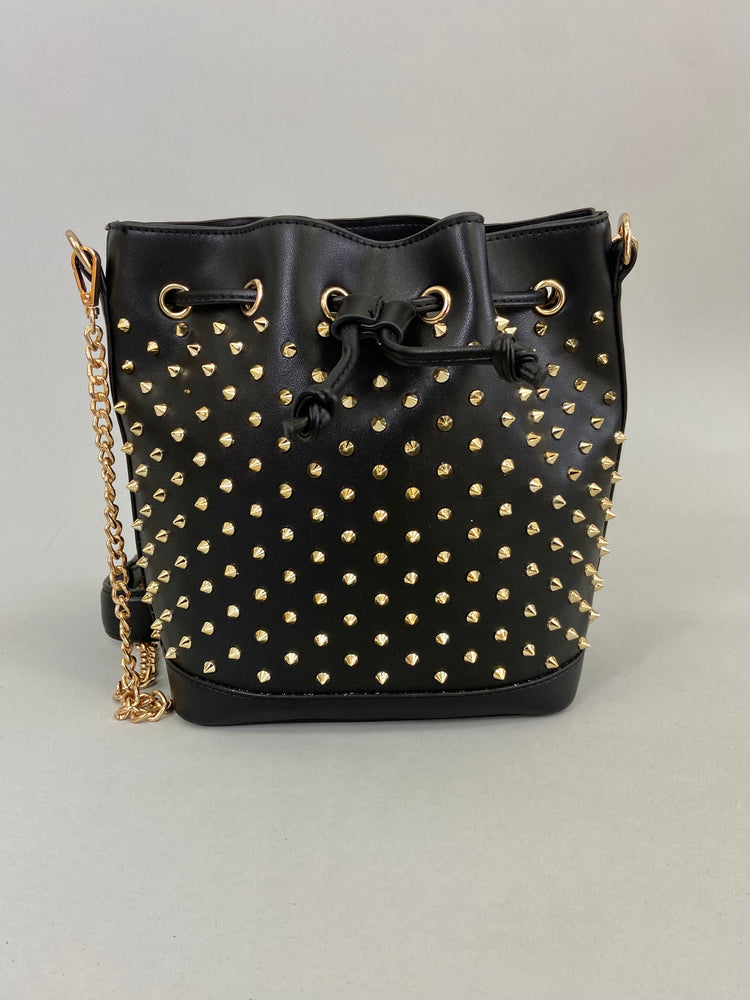 Load image into Gallery viewer, Studs Bucket Bag