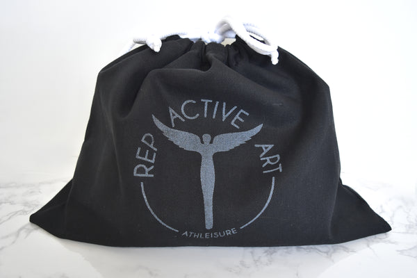 REP ACTIVE Art | Custom Packaging | Custom Dust Bags