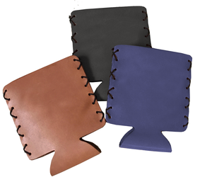 Leather Drink Sleeve Koozie | Mel Boteri Fashion Group