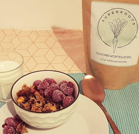 Superfood Granola SuperRoots cichoreiwortelvezel