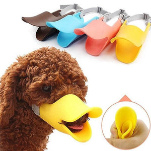 Silicone Duck Muzzle For Dogs