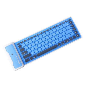 Mini Foldable Silicone Bluetooth Keyboard