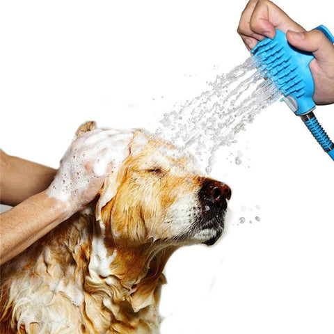 Image of Aqua Paw Pet Shower/Scrubber