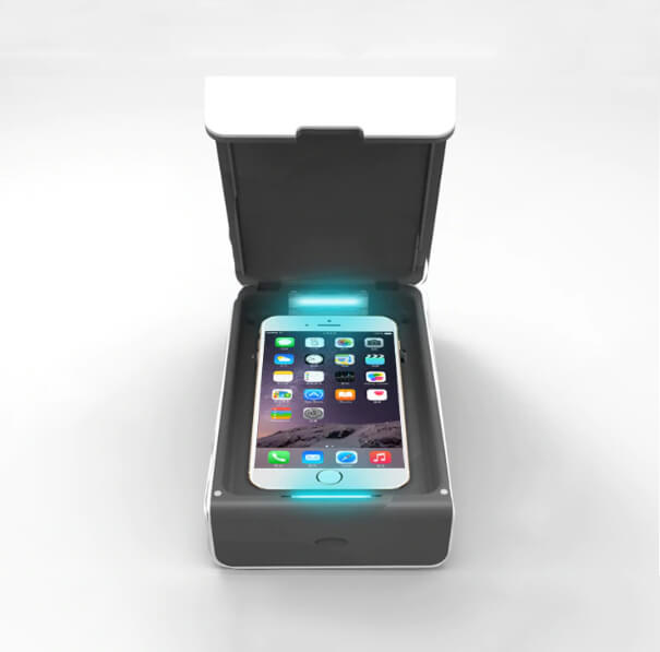 Smartphone Sanitizing UV Lamp