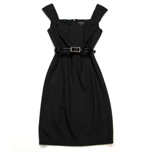 Tahari Black Dress Size 4/P