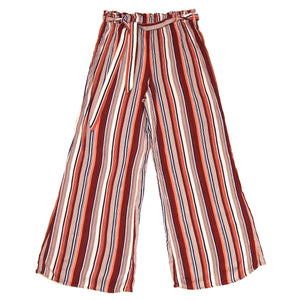 Forever 21 Striped Red Pants Size M