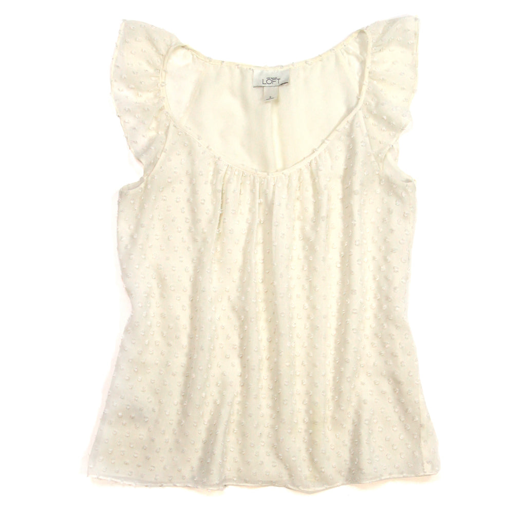 Loft - White Blouse - S