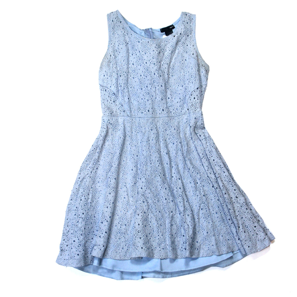 Aqua Sky Blue Dress Size S