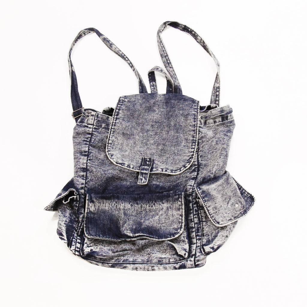 Cotton On Denim Backpack