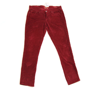 Lucky Maroon Corduroy Jeans - Size 12