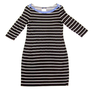Tommy Hilfiger - Black Striped Dress - 12