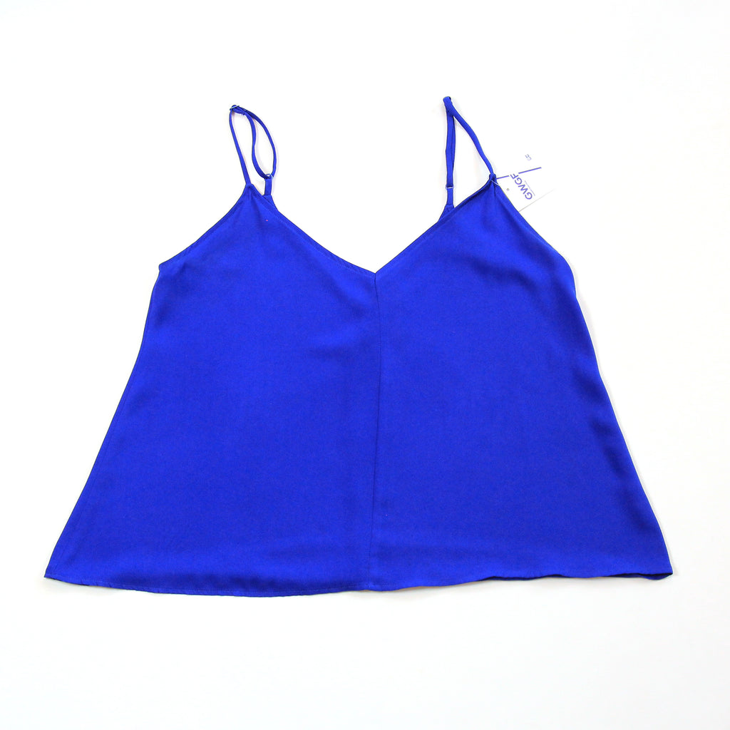86 Blue Tank Top Size S