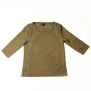 Ann Taylor Factory  Blouse Olive Green - L