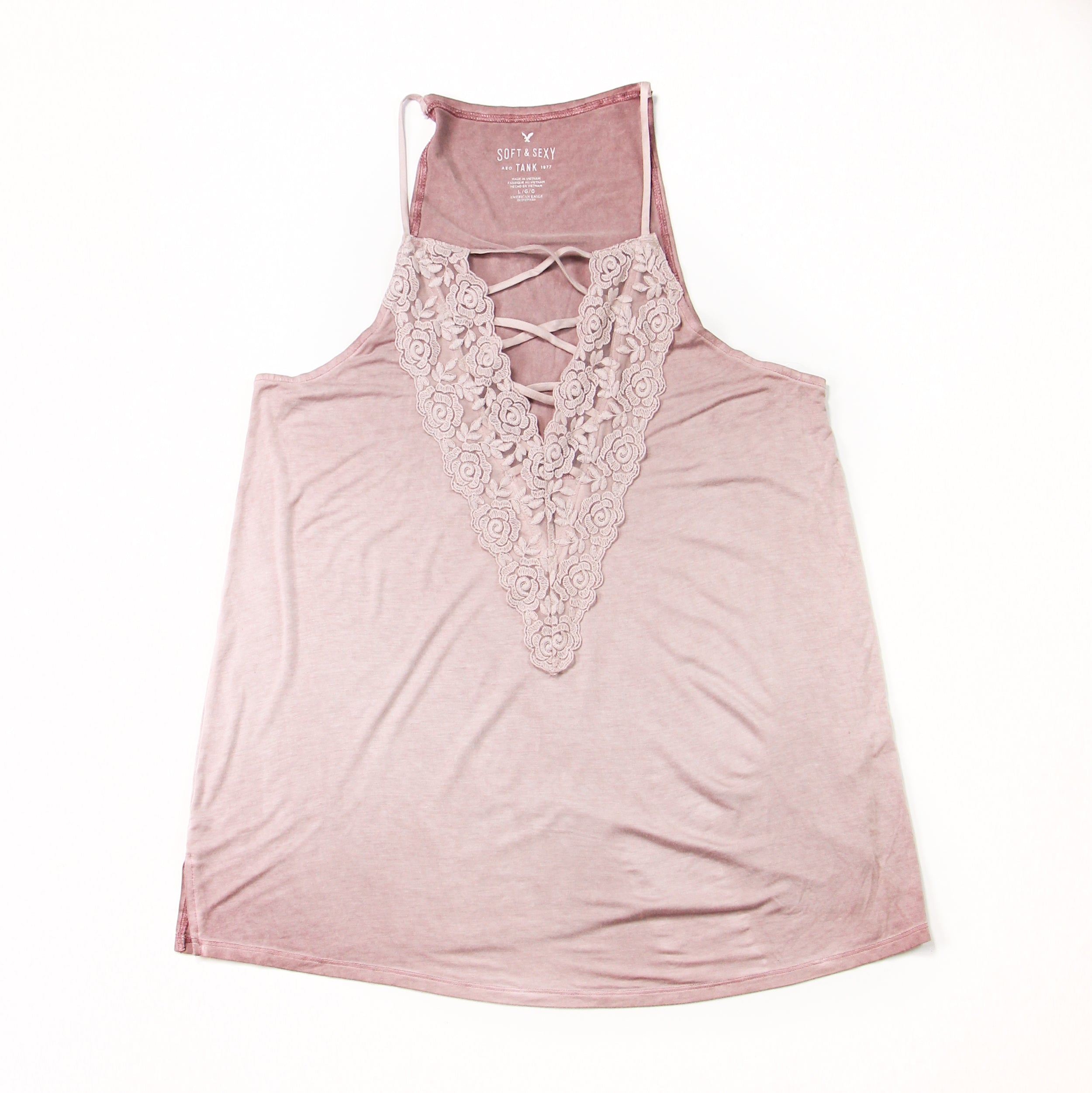 American Eagle Purple Cami Size L