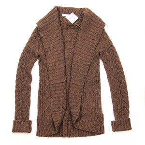 Vince - Brown Knitted Cardigan - S