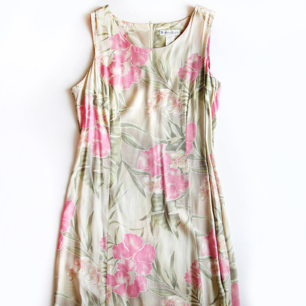 Dressbarn Floral Dress Size 12