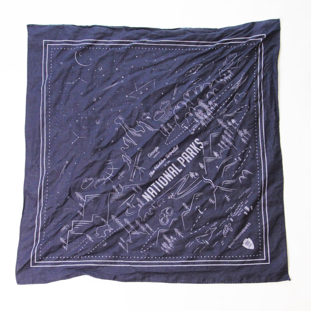 Google National Parks Handkerchief