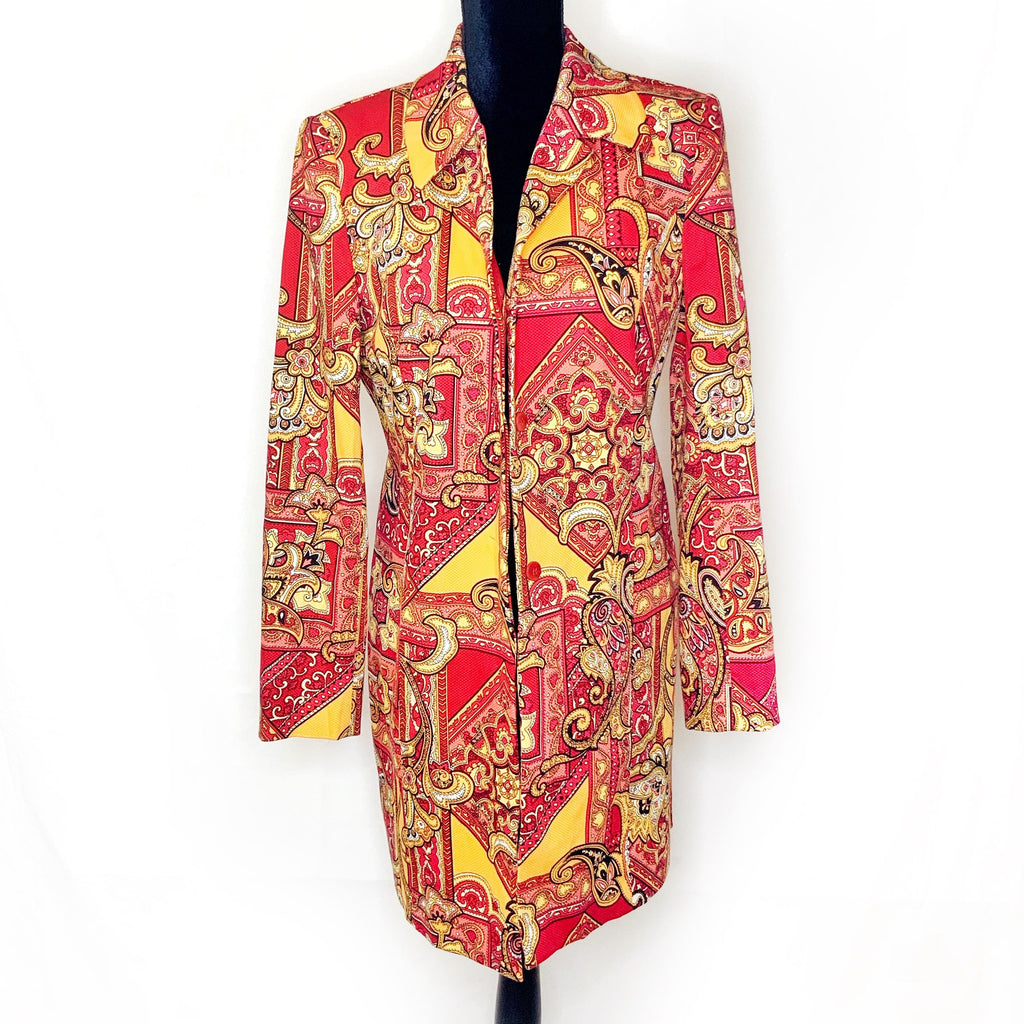 Grace Dane Lewis - Red Long Coat - 8