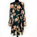 Donna Morgan - Black Floral Dress - 12