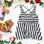 H&M Striped Dress Size S