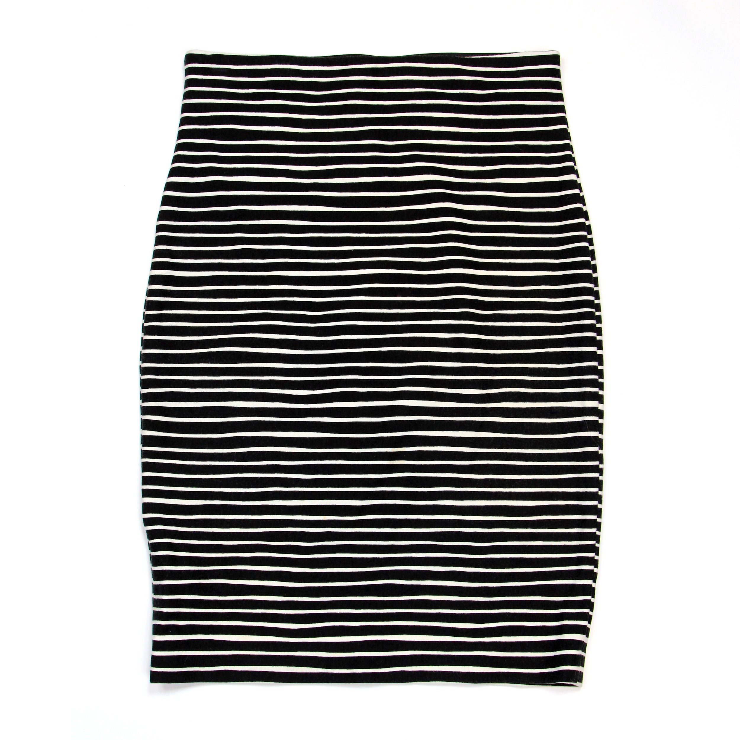 Loft Striped Skirt Size S/P
