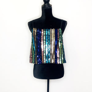 Topshop - Sequined Tank Top - 12