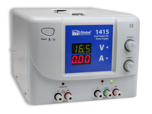 1415 Dual Output DC Power Supply: 0-30V, 0-3A & 5V, 3A; CSA approved