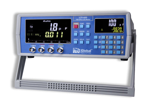 LCR-600: 100 kHz High Precision LCR Meter; CSA approved