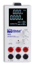 1403: DC Power Supply: 1-20 V, 0-5 A & 3.3/5 V, 2 A & 12 V, 1 A; CSA approved