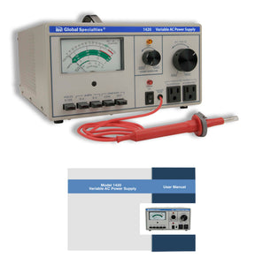 1420 Variable AC Power Supply: 0-150 VAC, 0-3 A; CSA approved