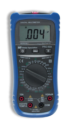 PRO-50A: Handheld Digital Multimeter