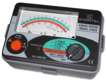 KYORITSU 4102A-H Analogue Ground Resistance Tester