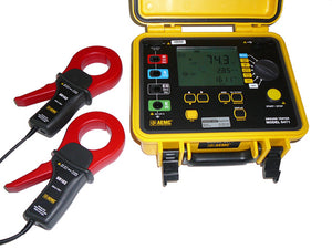 AEMC 6471 Digital Multifunctional Ground Resistance Tester with 2 SR182 Probes