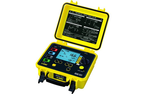 AEMC 6471 Ground Resistance Tester Catalog #: 2135.48(SR182 probes not included)