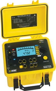 AEMC 5060 Digital Megohmmeter with Analog Bargraph and DataView Software, 5000V