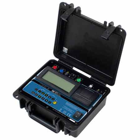 MEGABRAS/TENTECH EM4058 Smart Ground Resistance Tester
