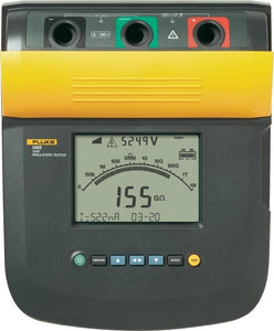 Fluke 1555 FC Kit w/IR3000 10 kV Insulation Tester Kit with IR3000 FC Connector