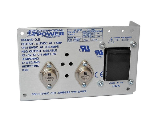 International Power - IHAA15-0.8 - Open Frame Power Supply