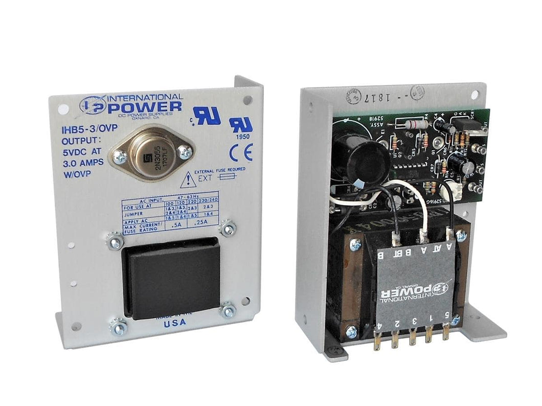 International Power - IHB5-3/OVP - Open Frame Power Supply