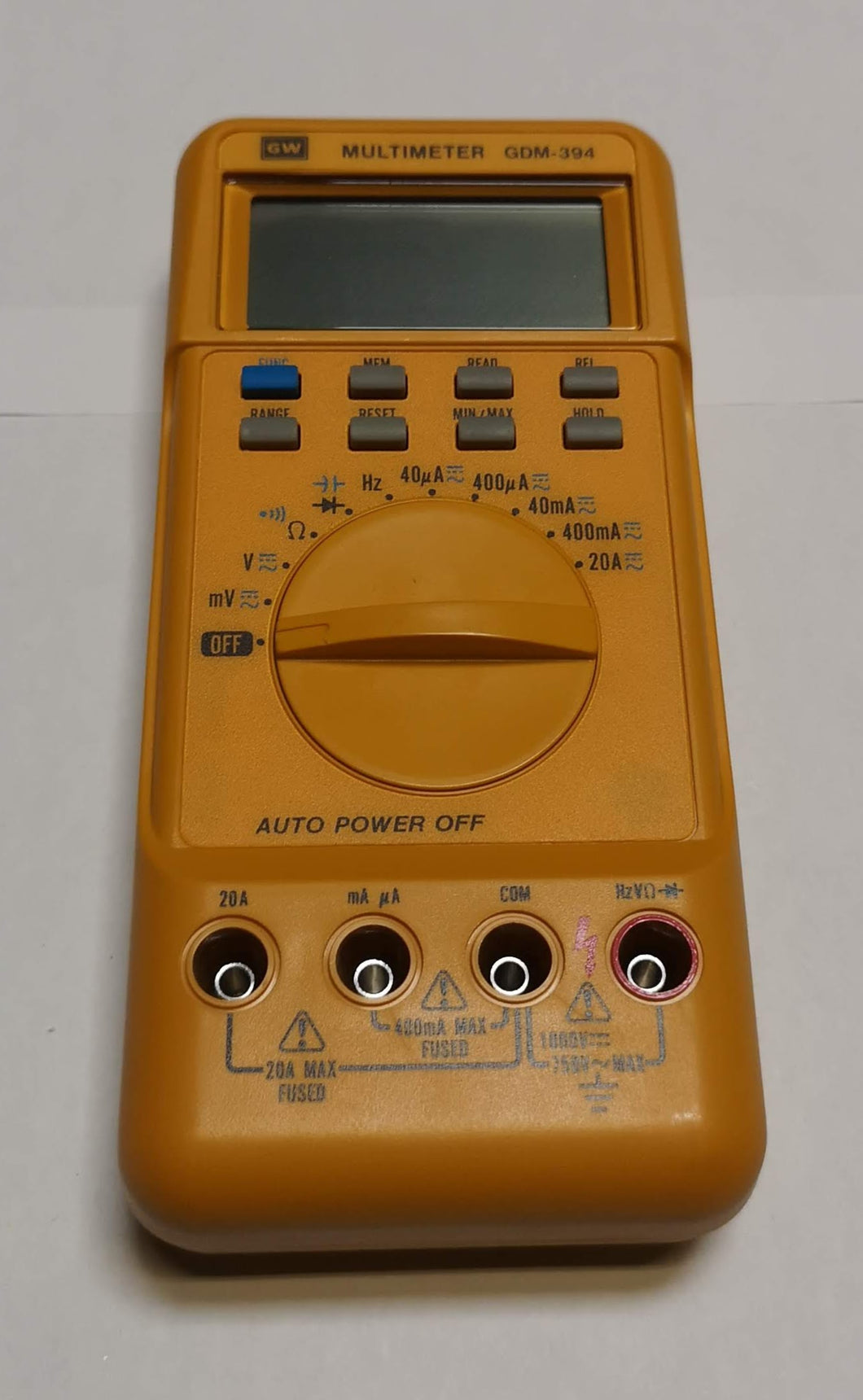 GW Instek - GDM 394 - Digital Multimeter