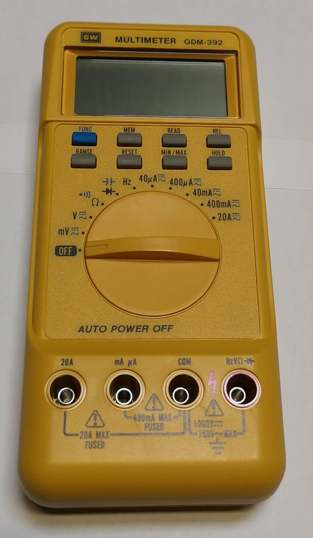 GW Instek - GDM 392 - Digital Multimeter