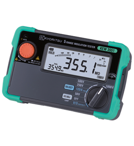 KYORITSU 3551 1000V Digital Insulation / Continuity Tester