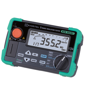 KYORITSU 3552BT 1000V Digital Insulation / Continuity Tester with Memory & Bluetooth Communication Function